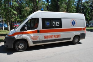 ambulanta transport pacienti