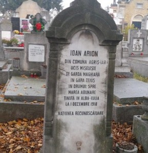 mormant ioan arion