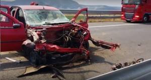 accident logan A1 deva sebes 11 august 2015
