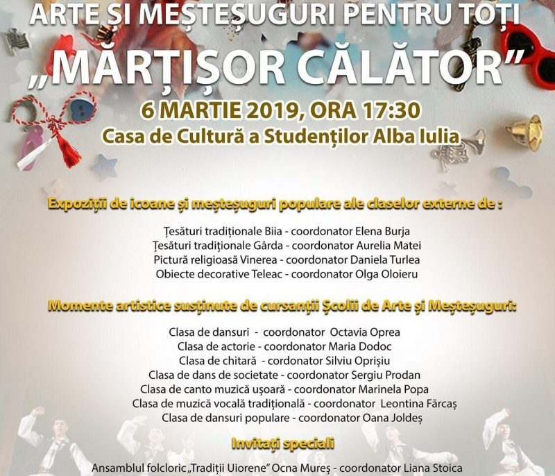 afis martisor calator 2019